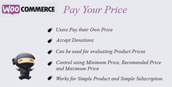 CodeCanyon WooCommerce Pay Your Price 7000238