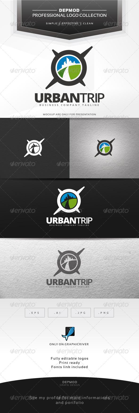 GraphicRiver Urban Trip Logo 7002619