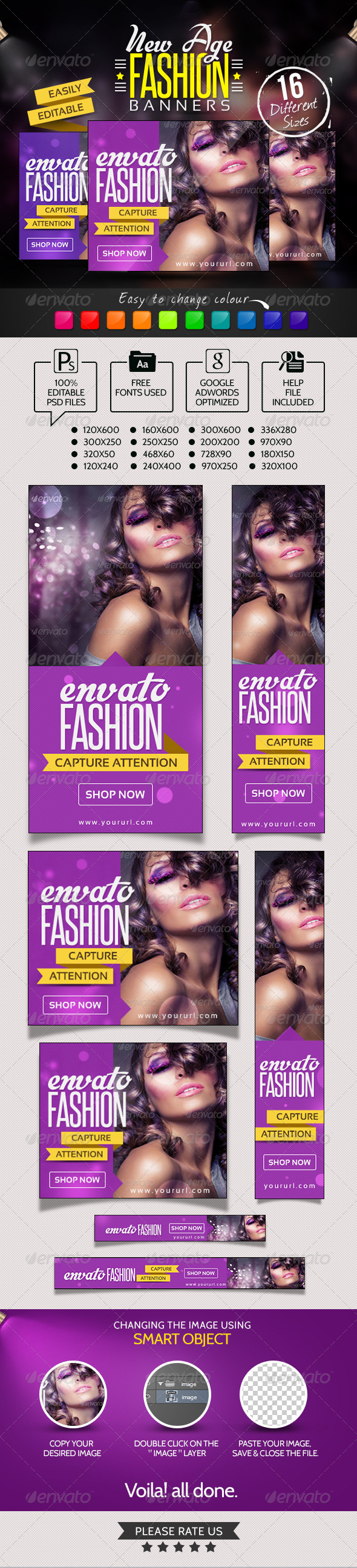 GraphicRiver New Age Fashion Banners 7010908