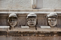 Stone heads at Cathedral of St. James in Sibenik, Croatia - PhotoDune Item for Sale