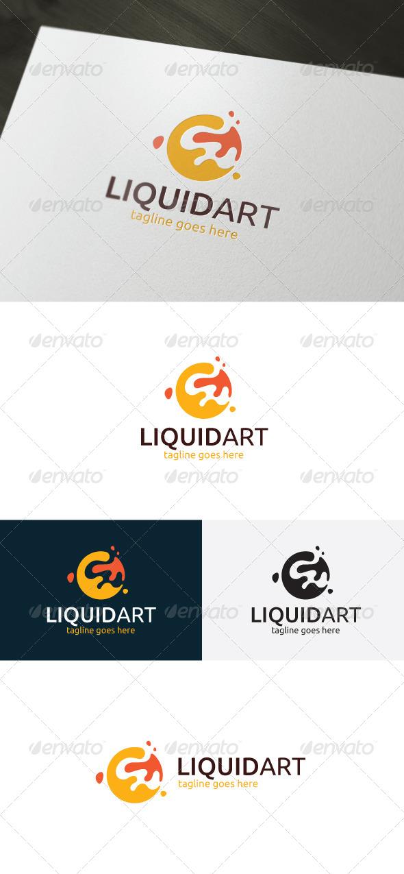 GraphicRiver Liquid Art Logo 7010985