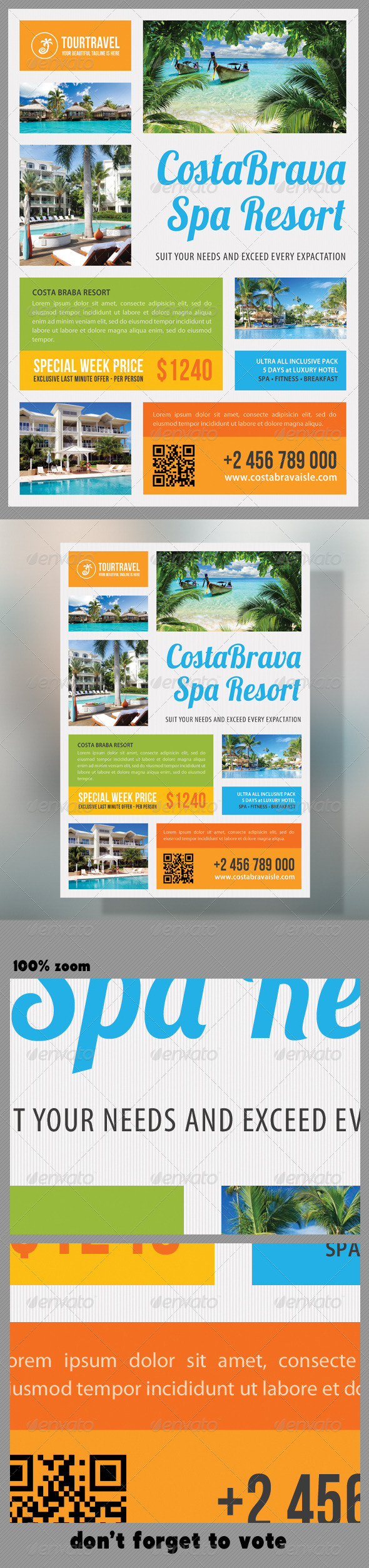 GraphicRiver Travel Agency Corporate Flyer 06 7011203
