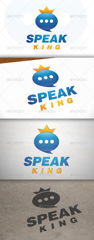 GraphicRiver Speak King Logo 7011227