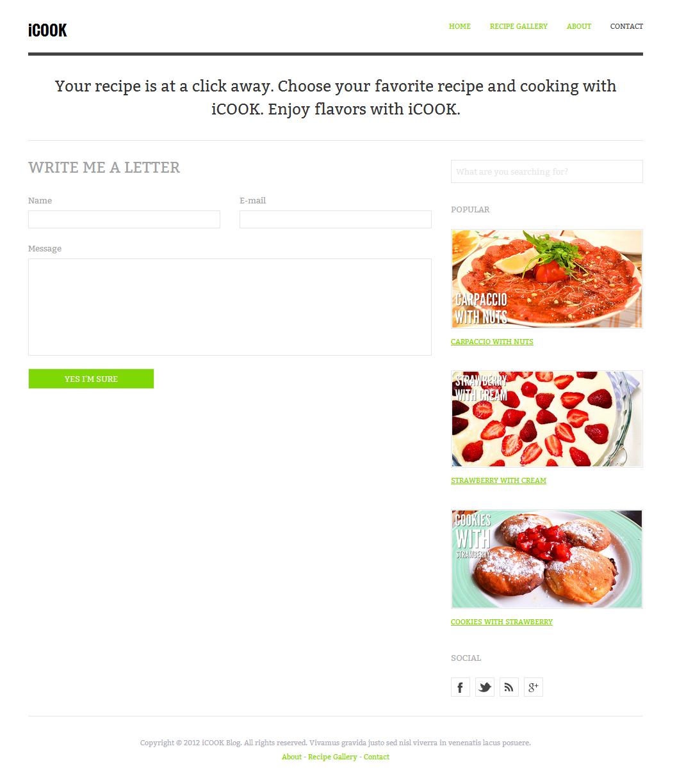 screens will blog food