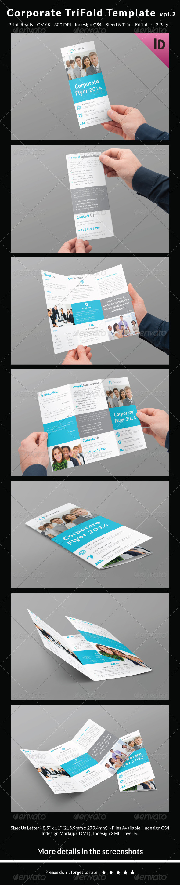 GraphicRiver Corporate Trifold Template vol.2 7011256
