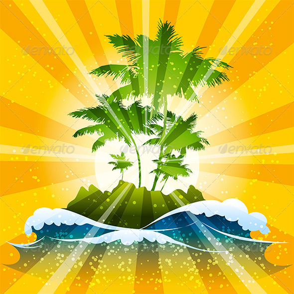 GraphicRiver The Tropic 7011318