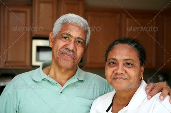 Senior Couple - Stock Photo - Images