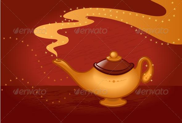 GraphicRiver Magic Lamp 7011663