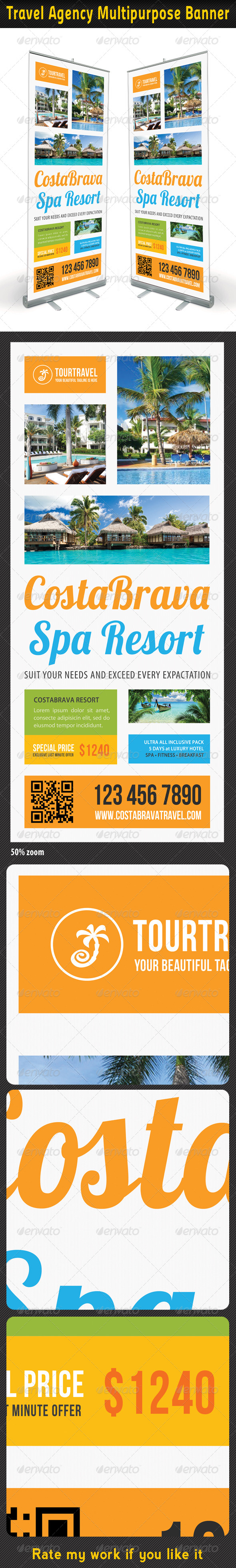 GraphicRiver Travel Agency Banner Template 06 7011687