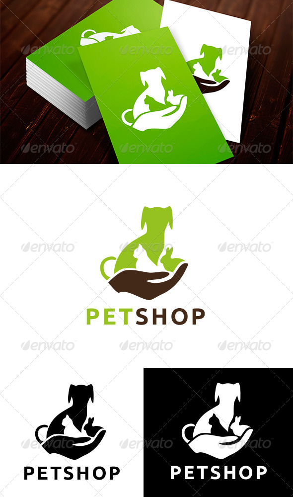 GraphicRiver Veterinary Pet Shop Logo 7011700