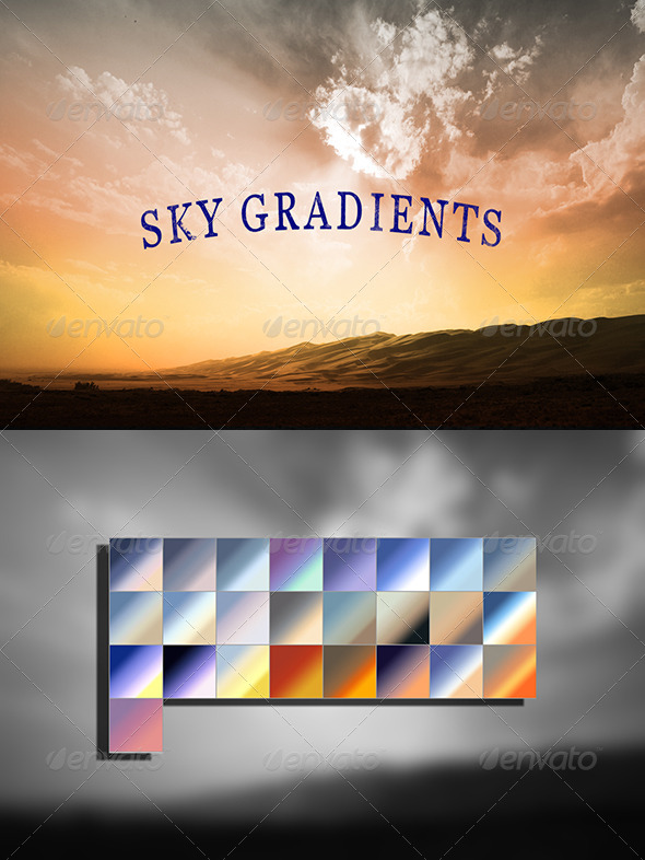 GraphicRiver Sky Gradients 7012007