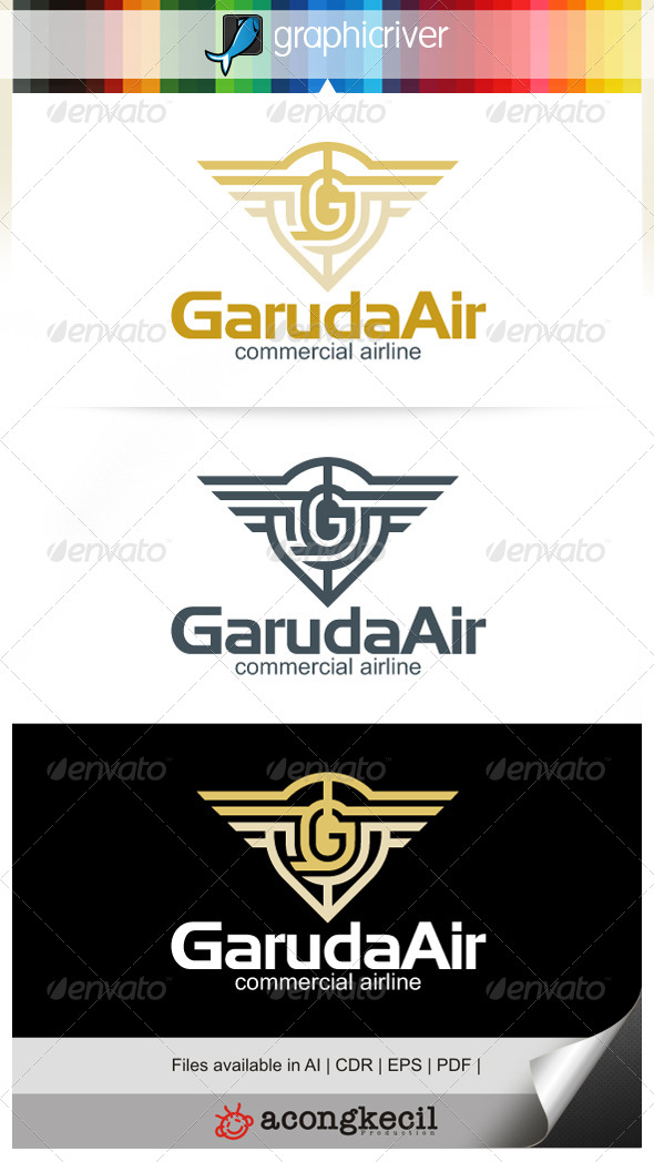 GraphicRiver Garuda Air V.4 7012011
