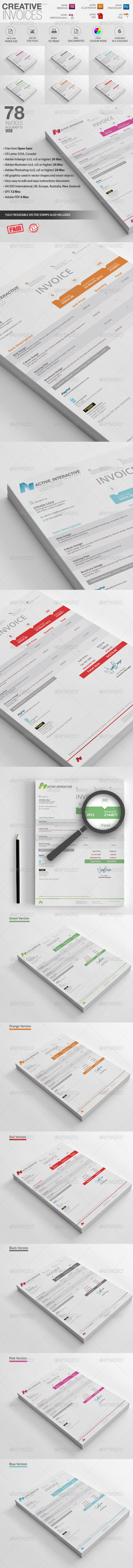 GraphicRiver Invoices 7012176