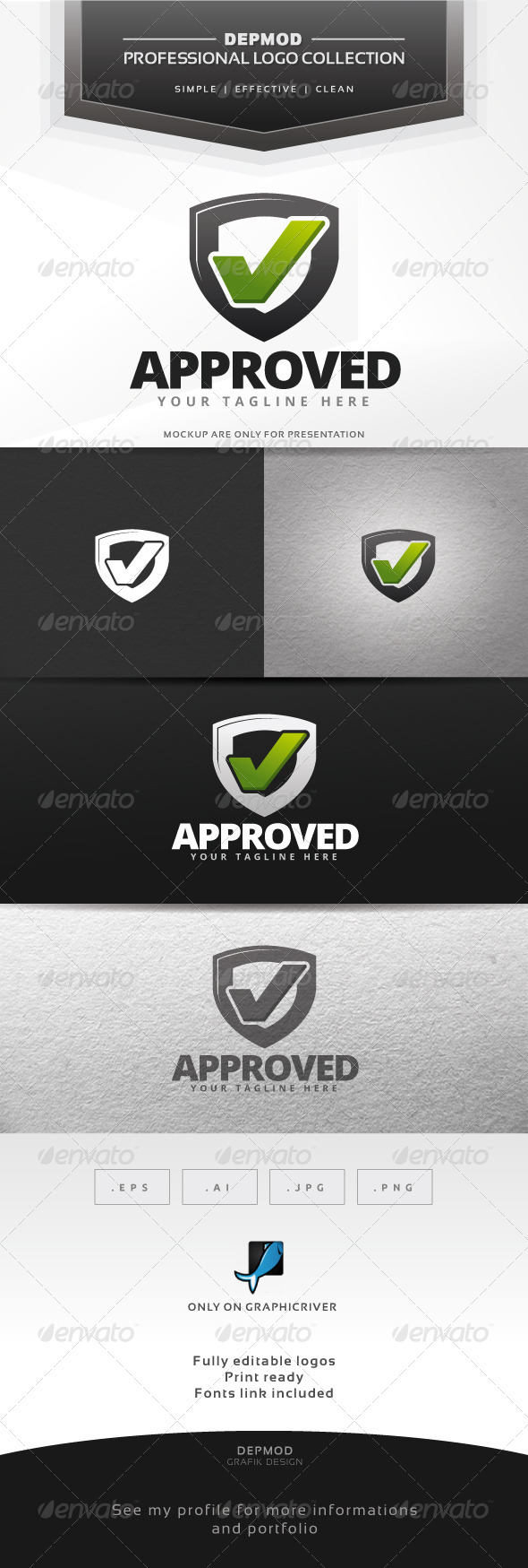 GraphicRiver Approved Logo 7012311