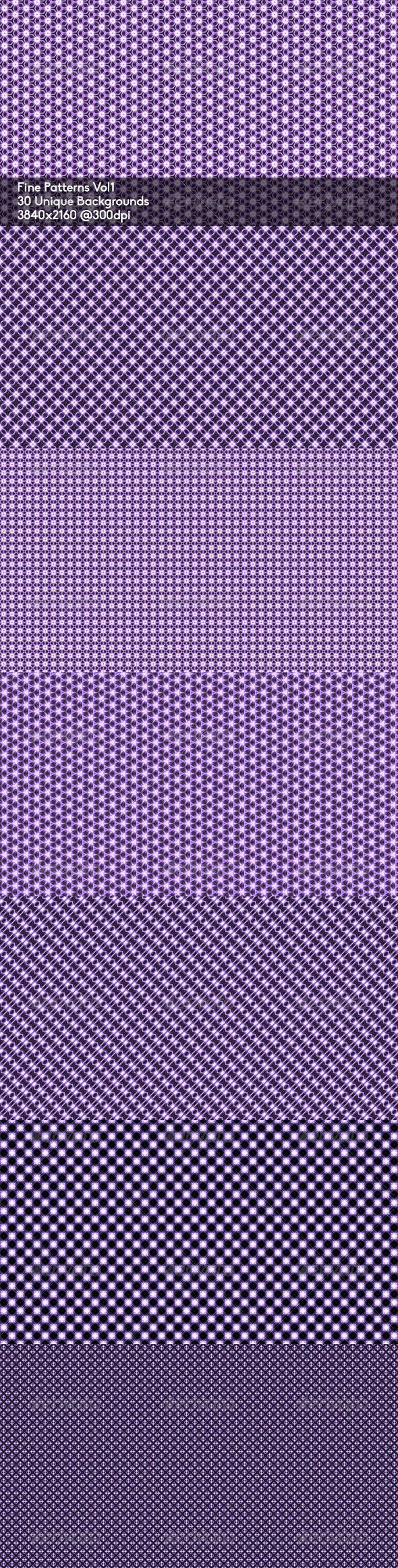 GraphicRiver Fine Patterns I 7012559