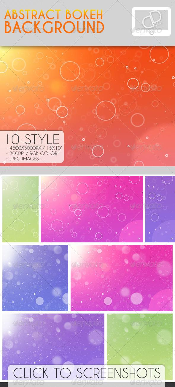 GraphicRiver Color Bokeh Background 7012583