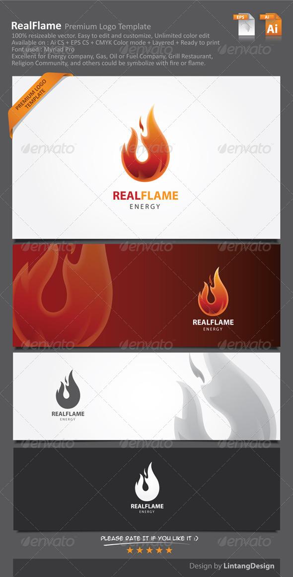 GraphicRiver Fire Logo 7010028