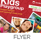 Kids Playgroup Education Flyer - GraphicRiver Item for Sale