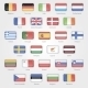 Flags of the EU Countries Icons - GraphicRiver Item for Sale