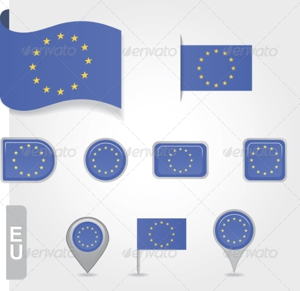 GraphicRiver Flag of Europe Union 7013217
