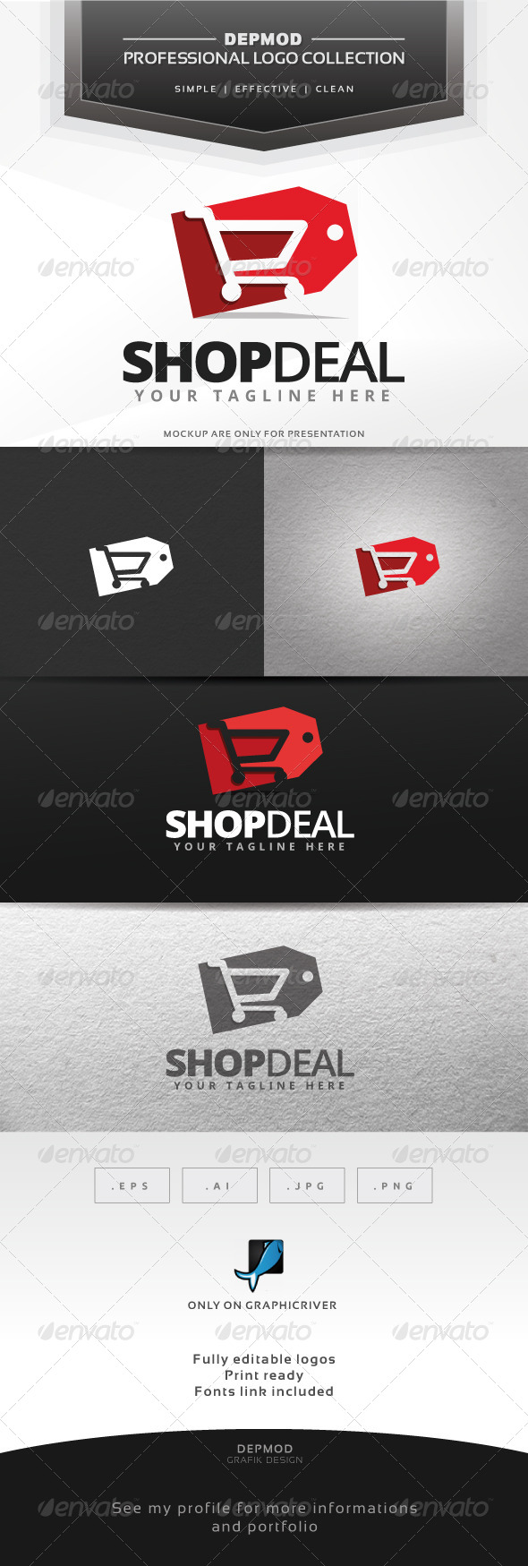 GraphicRiver Shop Deal Logo 7013224