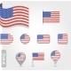 USA Flag Icon Set - GraphicRiver Item for Sale