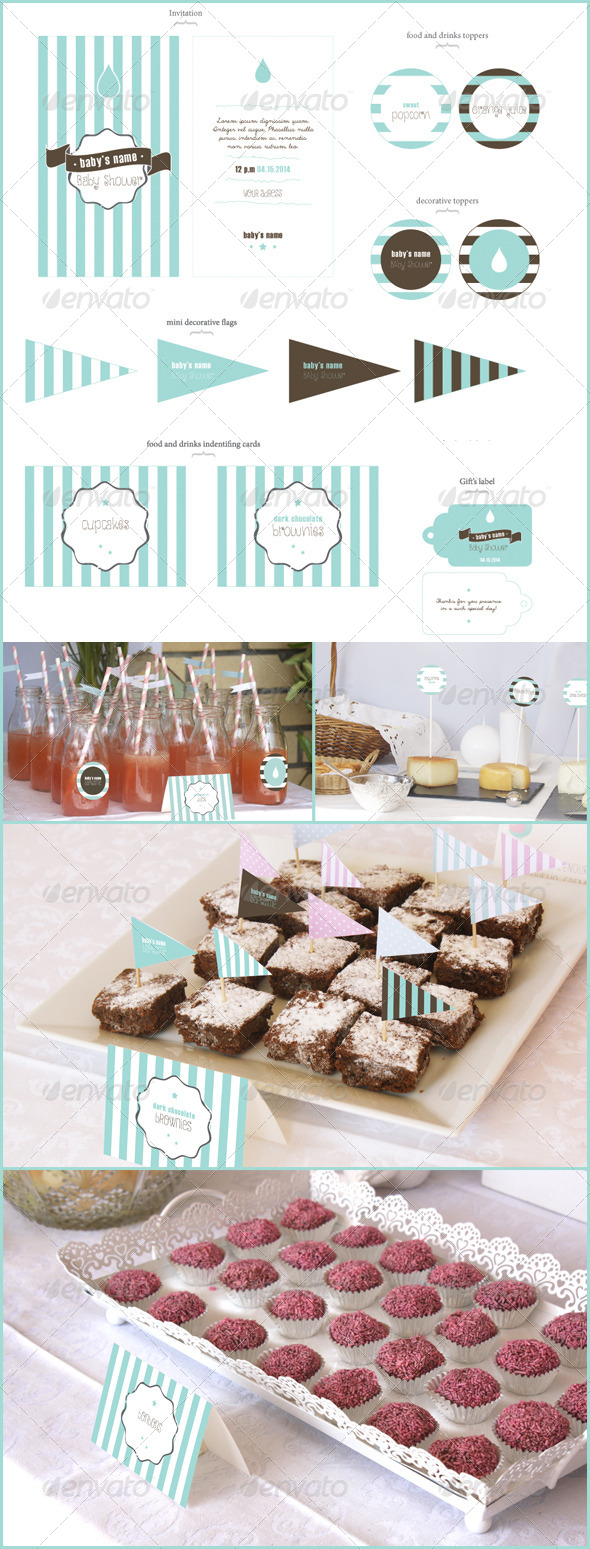 GraphicRiver Baby Shower 7010762