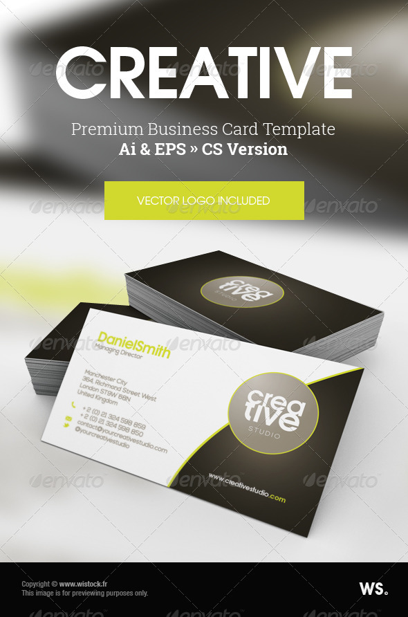 GraphicRiver Creative Studio Business Card 7013381