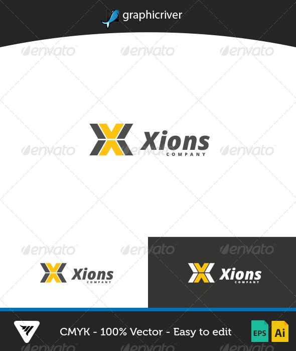 GraphicRiver Xions Logo 7013447
