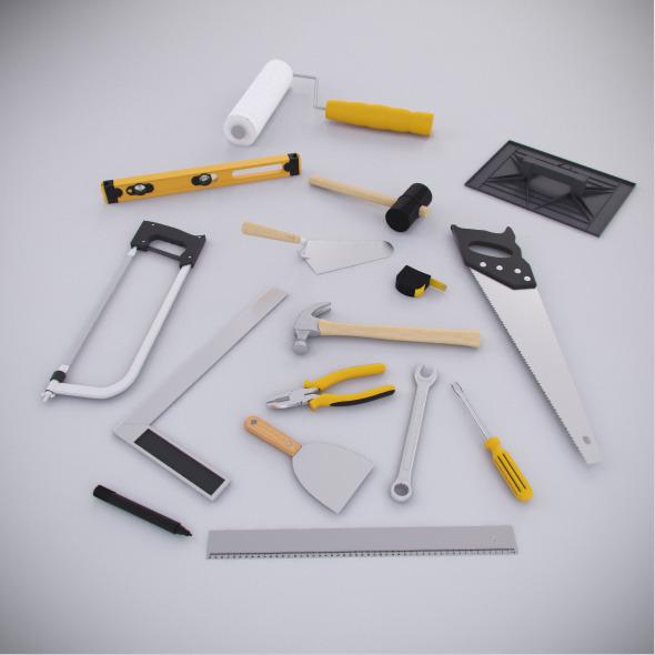 3DOcean Contruction Tools Kit 7013588