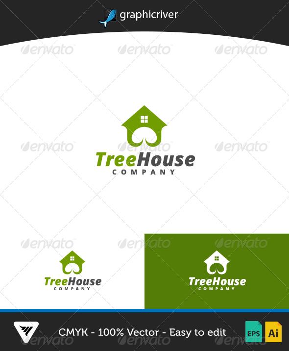 GraphicRiver TreeHouse Logo 7013964