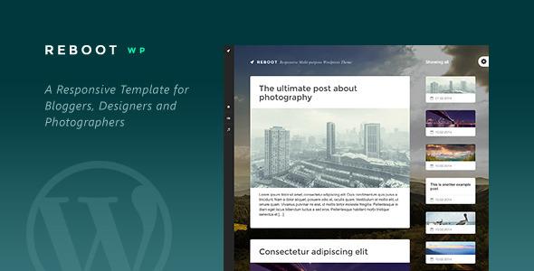 ThemeForest Reboot Responsive Multi-purpose Wordpress Theme 6968131
