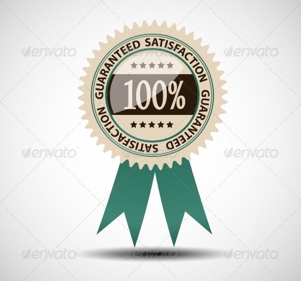 GraphicRiver Satisfaction Guaranteed Label 7014180
