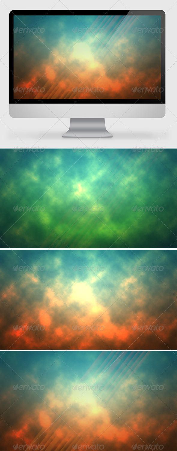 GraphicRiver Clouds Background 7014348