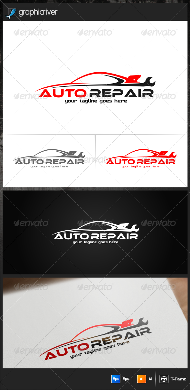 GraphicRiver Auto Repair Logo Templates 7014926