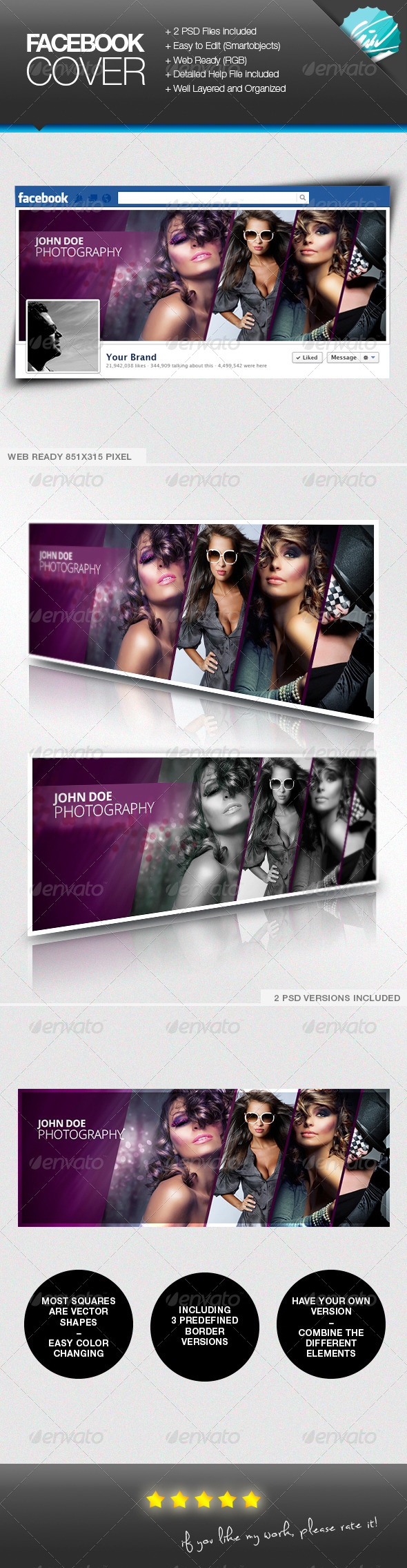 GraphicRiver Photography Model Facebook Timeline Cover 7014935