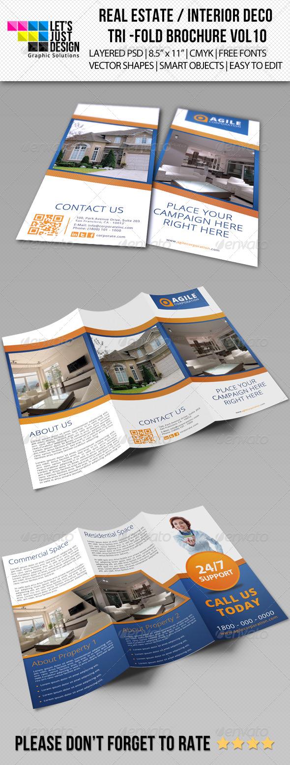 GraphicRiver Creative Corporate Tri-Fold Brochure Vol 10 7014945