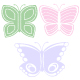 Butterfly Trio - GraphicRiver Item for Sale