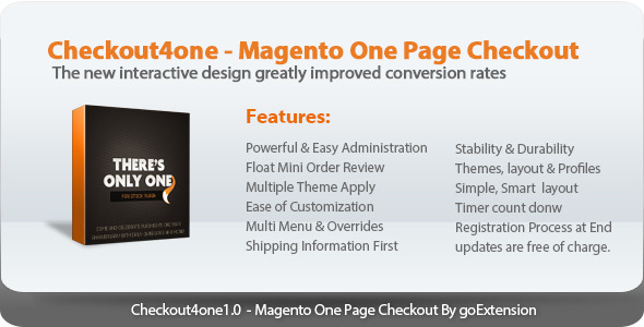 CodeCanyon Checkout4one Magento One Page Checkout 7015013