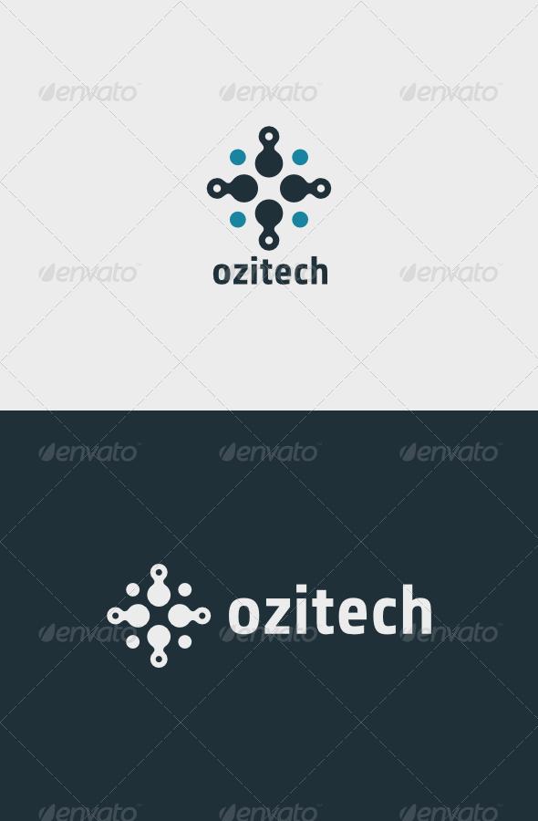 GraphicRiver Ozitech Logo 7016100