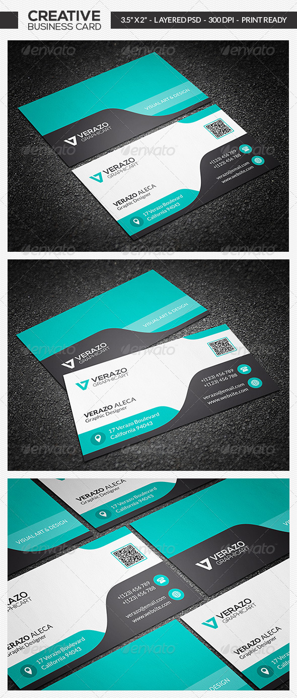 GraphicRiver Corporate Business Card 02 7016144