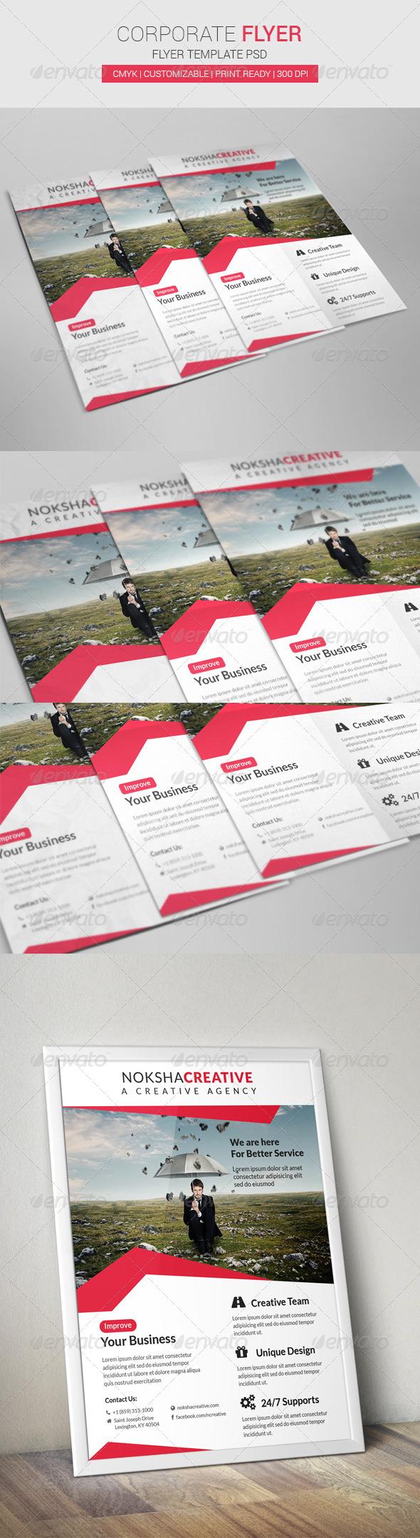 GraphicRiver Corporate Flyer 7016150