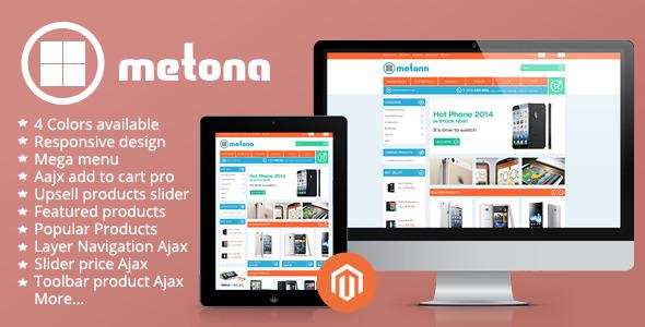 Metona - Responsive Magento Theme