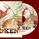 Broken CD Artwork Template - GraphicRiver Item for Sale