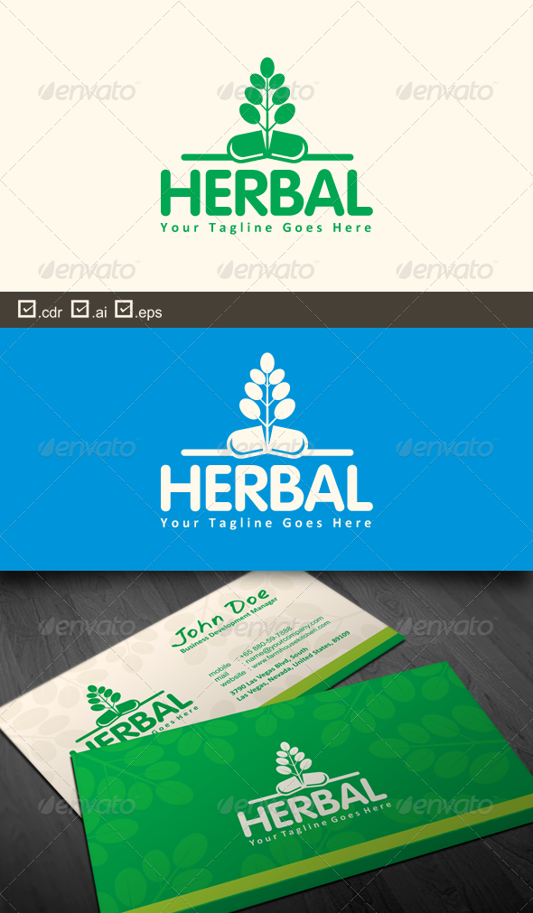 GraphicRiver Herbal 7016413