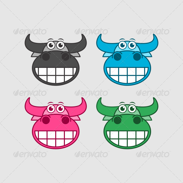 GraphicRiver Cow 7016420