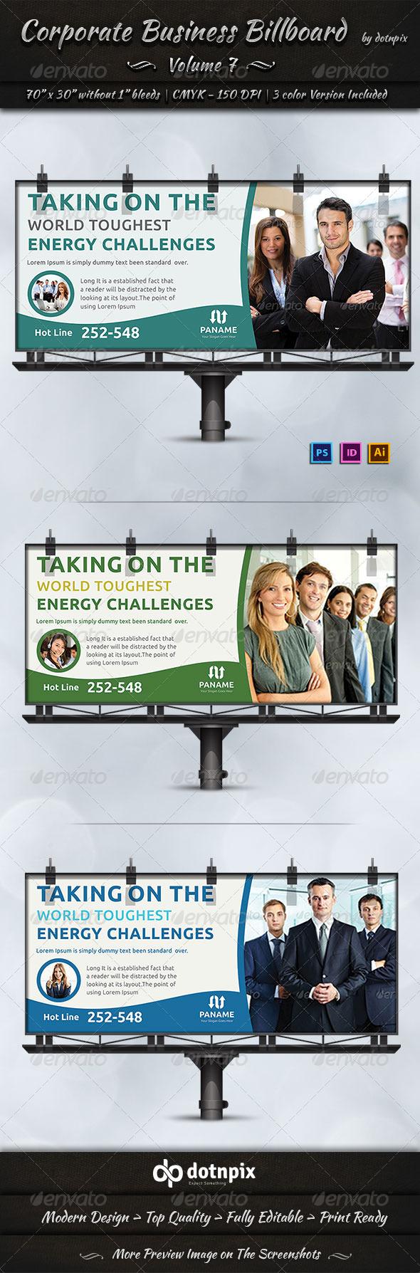 GraphicRiver Corporate Business Billboard Volume 7 6990479
