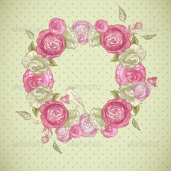 GraphicRiver Floral Frame 7017210