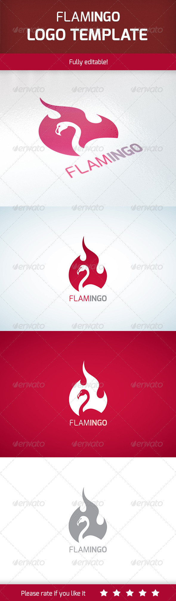 GraphicRiver Flamingo 7017546