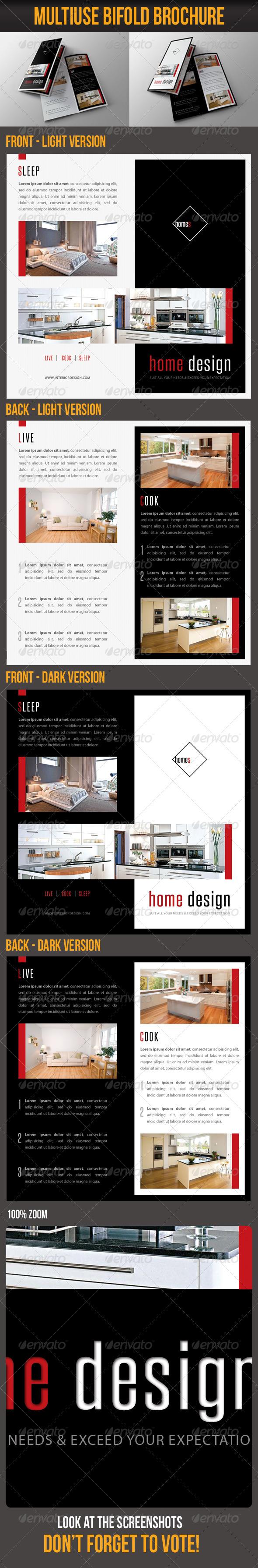 GraphicRiver Multiuse Bifold Brochure 52 7017597